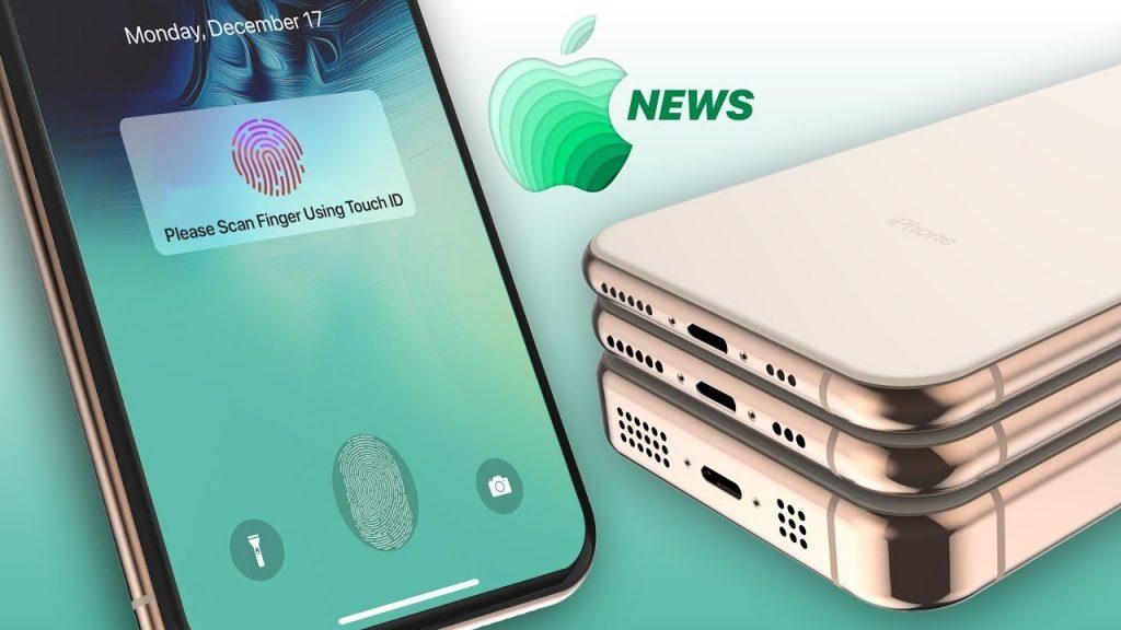 iPhone 2019 uses USB Type C port, with fingerprint sensor under the